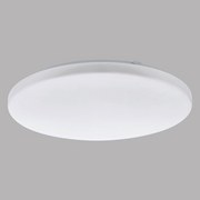 LED-Deckenleuchte Frania - Weiß, MODERN, Kunststoff/Metall (43/7cm)