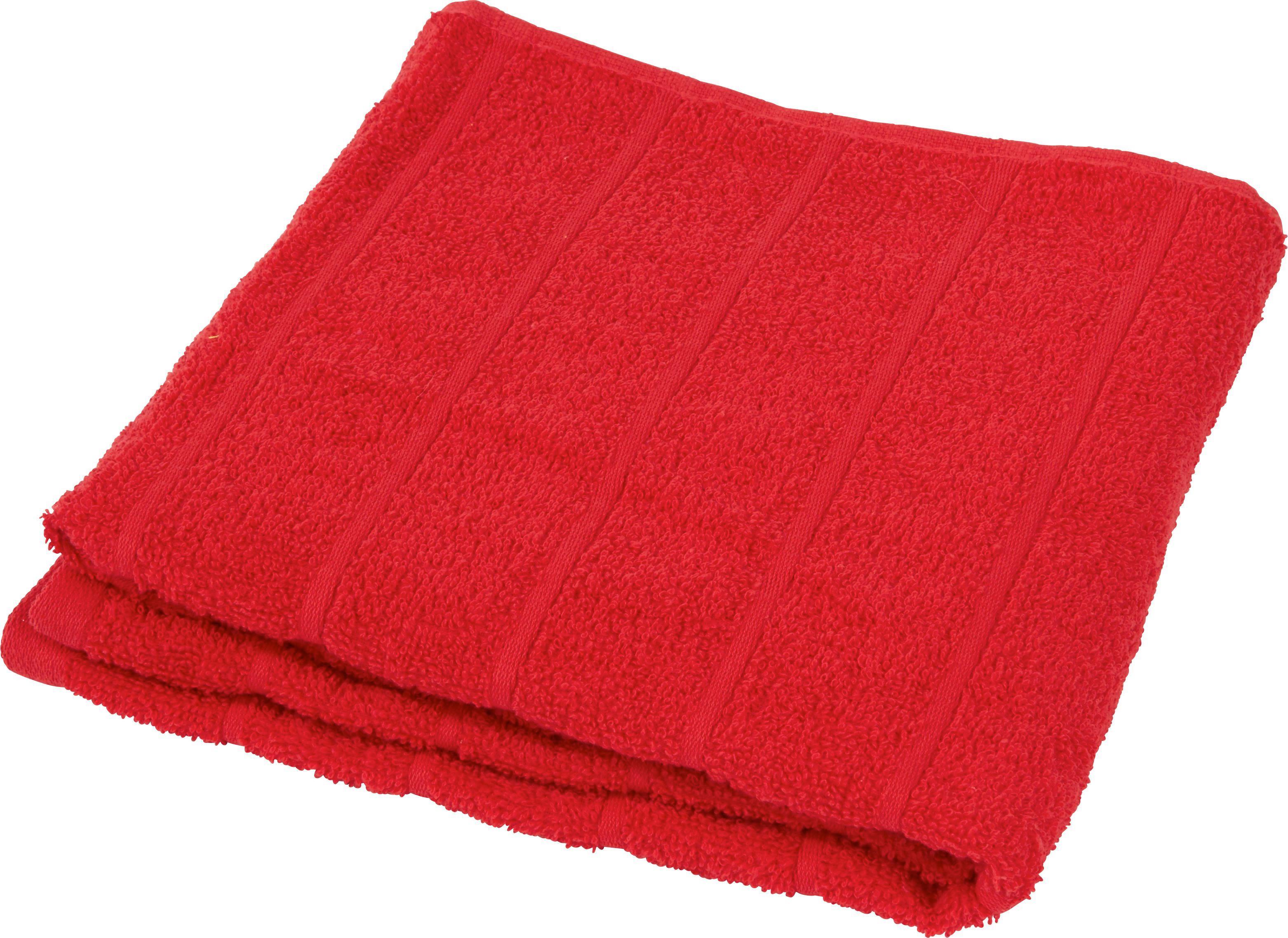 Fürdőlepedő Lilly 1 - piros, konvencionális, textil (70/140cm)