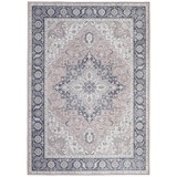 Orientalischer Webteppich Grau / Pink Lexi 120x170 cm - Pink/Grau, ROMANTIK / LANDHAUS, Textil (120/170cm) - James Wood