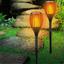 Solarleuchte Flamm Ø 78 cm - Schwarz, MODERN, Kunststoff (12/78cm) - Grundig