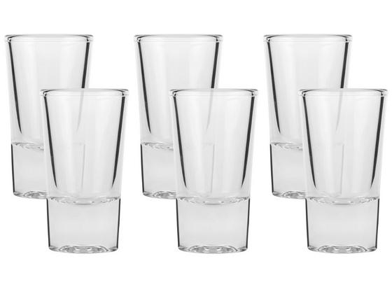 Schnapsglas Maximilian - Klar, MODERN, Glas (3,8/6,8cm) - Luca Bessoni