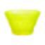 Miska Na Zmrzlinu Cindy - svetlomodrá/žltá, Moderný, sklo (0,2l) - Mömax modern living