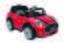 Kinderauto Ride On Mini Cooper 6v - Rot/Schwarz, MODERN, Kunststoff (110/62/51cm)