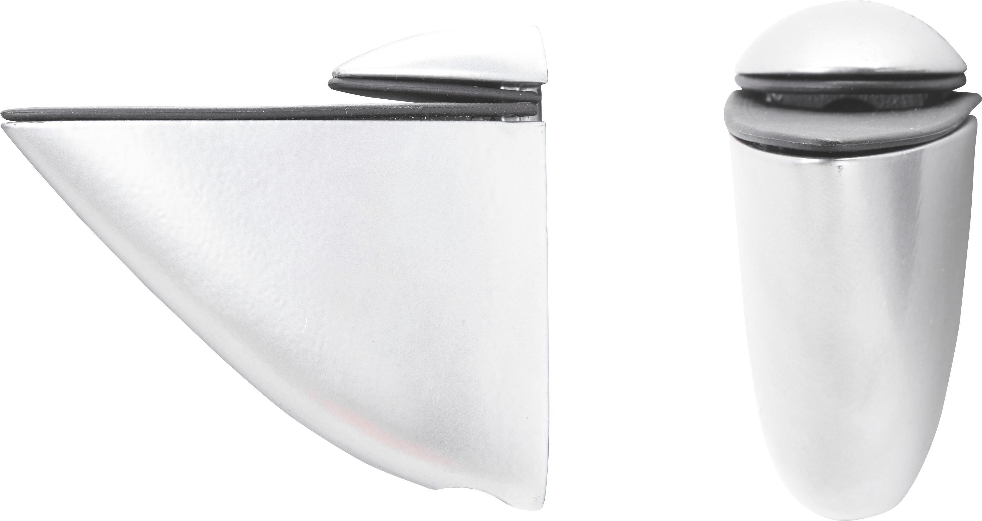 Wandhalter X-tra - Silberfarben, Basics, Metall (8/6cm) - MÖMAX modern living