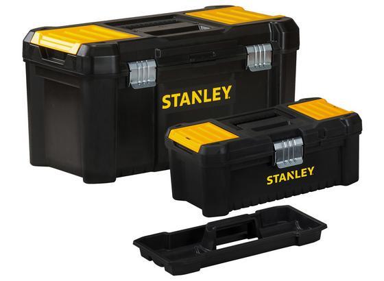 Werkzeugbox Essential Box - Gelb/Schwarz, Basics, Kunststoff (48/26/25cm)