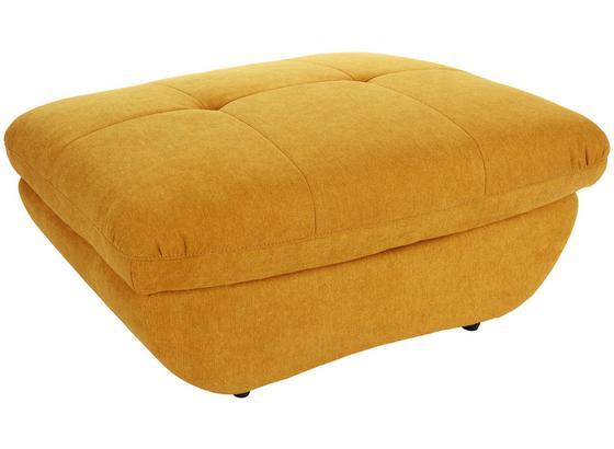 Taburetka Lounge Park - kari žltá, Moderný, textil (107/43/75cm) - Luca Bessoni