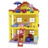 Steckbausteine Peppa House - Multicolor, Basics, Kunststoff (9,5/55,5/33cm)
