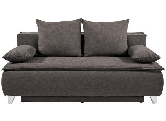 Pohovka Boxspring Marlene - sivá, Moderný, drevo/textil (208/100/106cm) - Luca Bessoni