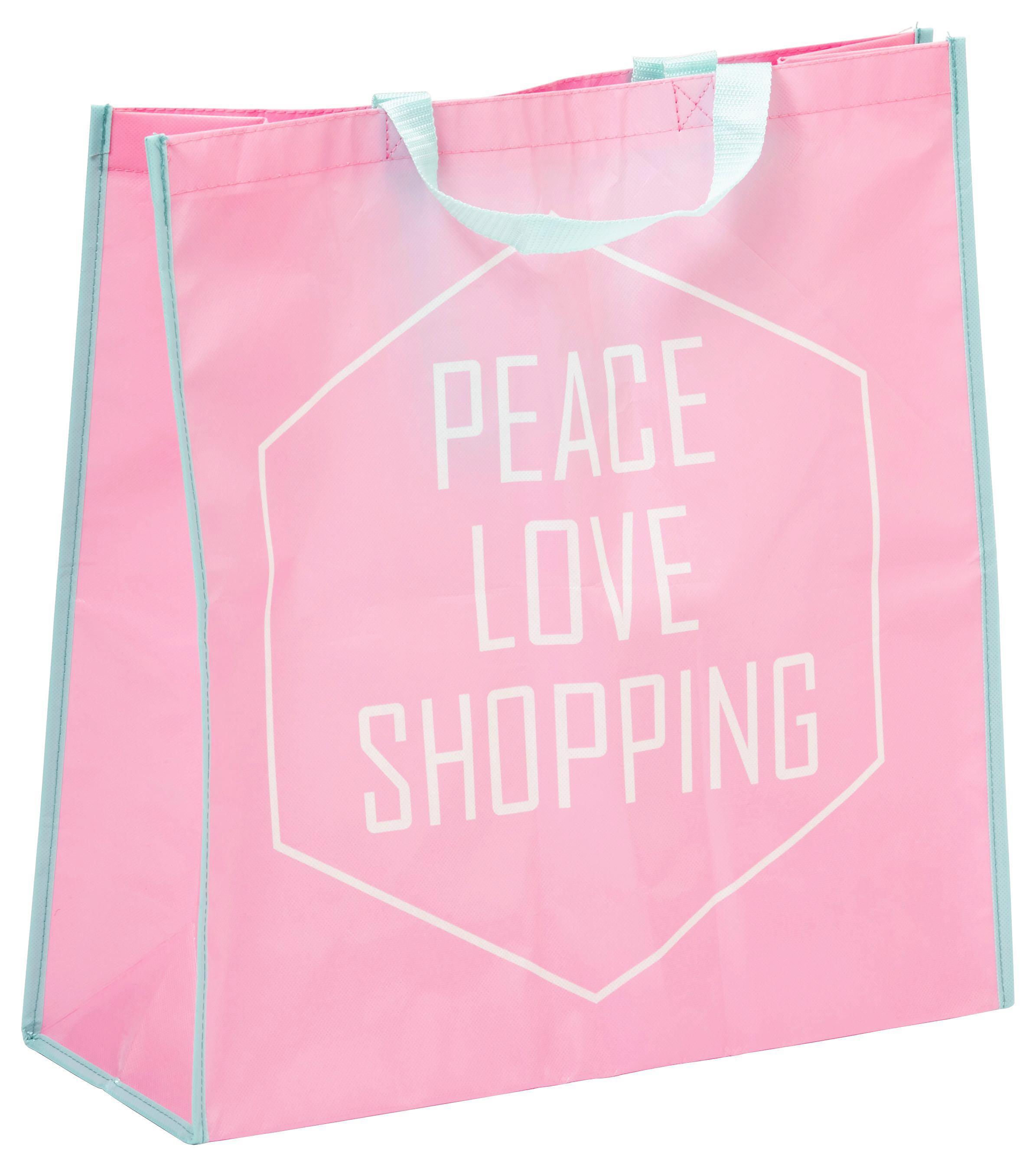 Bevásárlótáska Passage - konvencionális, műanyag (45/47/17,5cm)