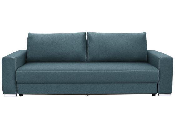 Velká Pohovka Garcia - světle modrá/béžová, Moderní, dřevo/textil (248/90/103cm) - Luca Bessoni