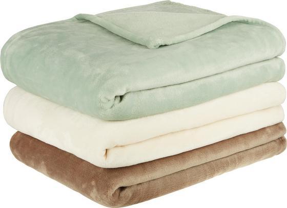 Deka Julian - biela, textil (140/200cm) - Mömax modern living