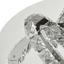 Led Stropná Lampa Tyler, Ø 40cm, 18 Watt - chrómová/číre, Konvenčný, kov/plast (40/24,5cm) - Premium Living