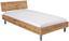 Kopfteil Belia, für Bett 120x200 cm - Eichefarben, KONVENTIONELL, Holzwerkstoff (127cm)