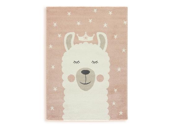 Kinderteppich Lea - Pink, MODERN, Textil (100/150cm) - Ombra