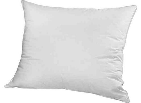 Vankúš Vysoký - biela, textil (70/90cm) - Based