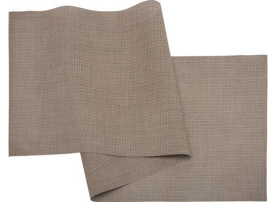 Ubrus 'běhoun' Na Stůl Stefan - šedohnědá, umělá hmota (45/150cm) - Mömax modern living