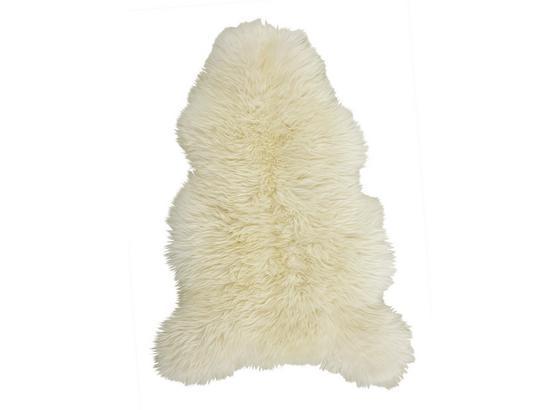 Kůže Ovčí Jenny - bílá, textil (90-105/60cm) - Mömax modern living