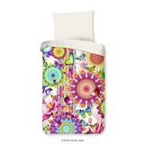 Bettwäsche Feliz 140/200cm Creme/Multicolor - Multicolor/Creme, Basics, Textil