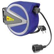 Elektrokabeltrommel 11050 - Blau/Schwarz, MODERN, Kunststoff (33,5/17/27cm) - Erba