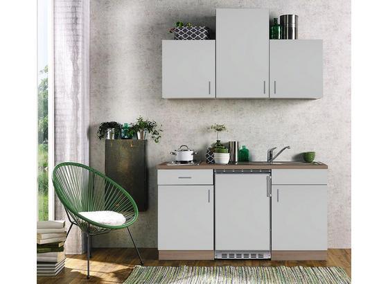 Miniküche Sonea 150 cm Eiche/ Weiß online kaufen ➤ Möbelix
