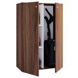 Kommode 70cm Lona Mini, Nussbaum - Nussbaumfarben, Basics, Holzwerkstoff (70/105/40cm) - MID.YOU