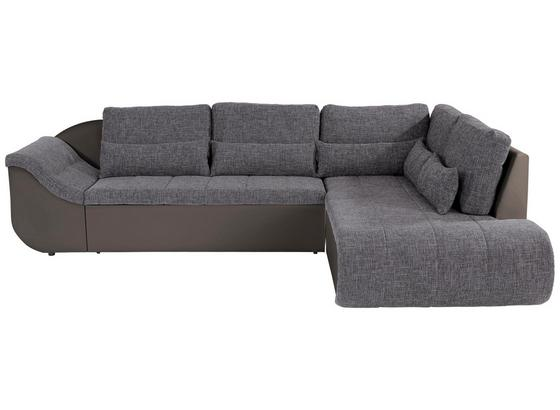 Sedací Souprava Carisma - šedá/jílová barva, Moderní, textil (300/210cm) - Ombra
