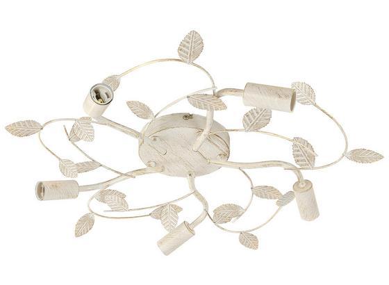 Deckenleuchte Eva - Weiß, Basics, Metall (53.5/8.5cm) - James Wood
