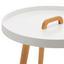 Přístavní Stolek Lia - bílá/barvy pinie, Moderní, dřevo (49,5/49,5cm) - Mömax modern living