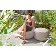 Outdoorsitzsack Slope B: 85 cm Hellbraun - Hellbraun, Basics, Kunststoff (85/90/85cm) - Ambia Garden