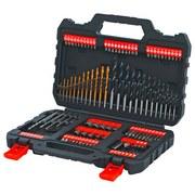 Bitset 108-Tlg Schwarz, Orange - Schwarz/Orange, Basics (22/6,6/31,5cm)