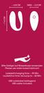 G-Punkt-Vibrator Sweet Smile We-Vibe Edition - Rot, Basics, Kunststoff (1,1-3,1/18cm)