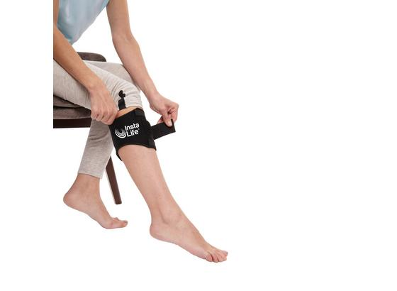 Akkupressur-bandage Insta Life - Schwarz, KONVENTIONELL, Textil (14/60cm) - Mediashop