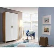 Skriňa Falun - farby dubu/biela, Moderný, drevený materiál (92/203/53cm)