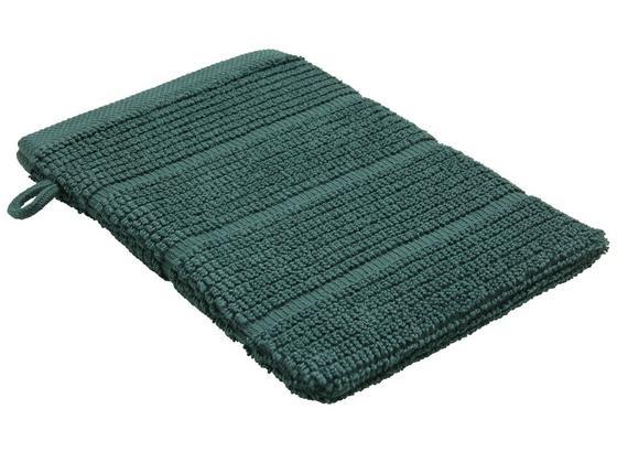 Rukavica Na Umývanie Anna - tmavozelená, textil (16/21cm) - Mömax modern living