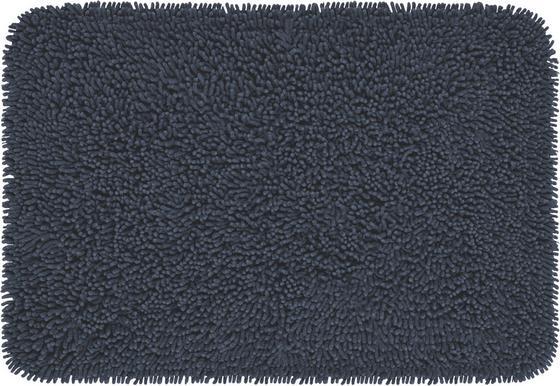 Koberček Do Kúpeľne Jenny - antracitová, textil (60/90cm) - Based