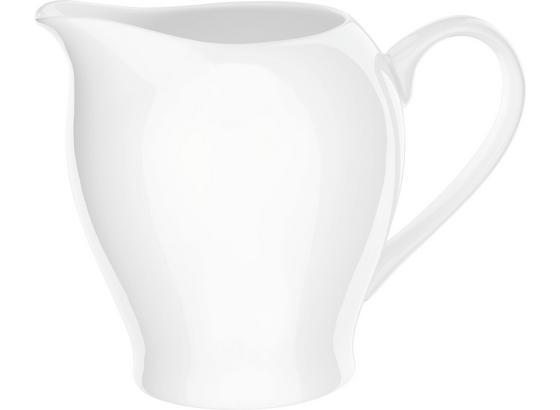 Konvička Na Mléko Bonnie - bílá, Moderní, keramika (0,34l) - Mömax modern living