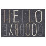 Fußmatte Deco Brush D.004 - Hellbraun/Schwarz, MODERN, Textil (50/70cm)