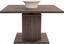 Dohányzóasztal Bern - Sötétszürke, modern, Faalapú anyag (80/51-70/80cm)