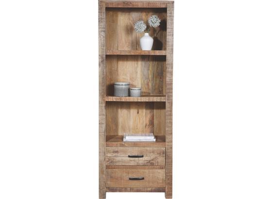 Regál Industry - přírodní barvy, dřevo (67/180/42cm) - James Wood