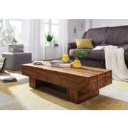 Couchtisch Sira L: ca. 120 cm - Sheeshamfarben, Design, Holz (120/45/30cm) - Carryhome
