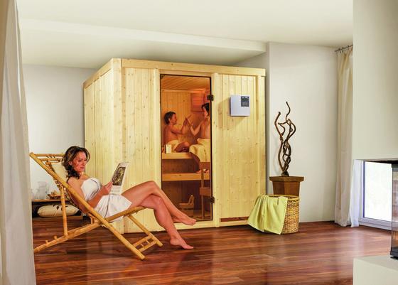 Kleine Sauna für die eigenen vier Wände