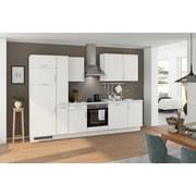 Küchenblock Turin 310 cm Weiß - Weiß, LIFESTYLE, Holzwerkstoff (310cm) - Qcina