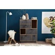 Komoda Image 2 - Sonoma dub, Moderní, kompozitní dřevo (90/120/45cm)