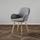 Jedálenská Stolička Anne - svetlosivá/farby buku, Moderný, drevo/textil (54/80/56cm) - Modern Living