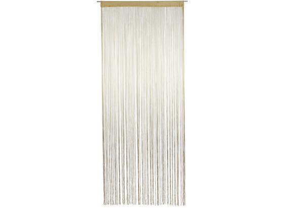 Zsinórfüggöny Marietta - Natúr, konvencionális, Textil (90/245cm) - Ombra