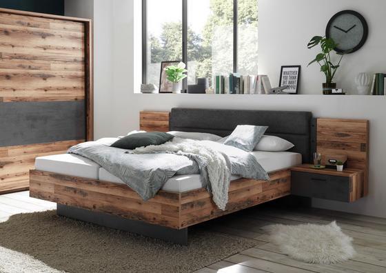 Schlafzimmer im rustikal-modernen Stil