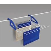 Wäschetrockner Wäsc - Blau/Weiß, MODERN, Kunststoff/Metall (62/16/61cm)