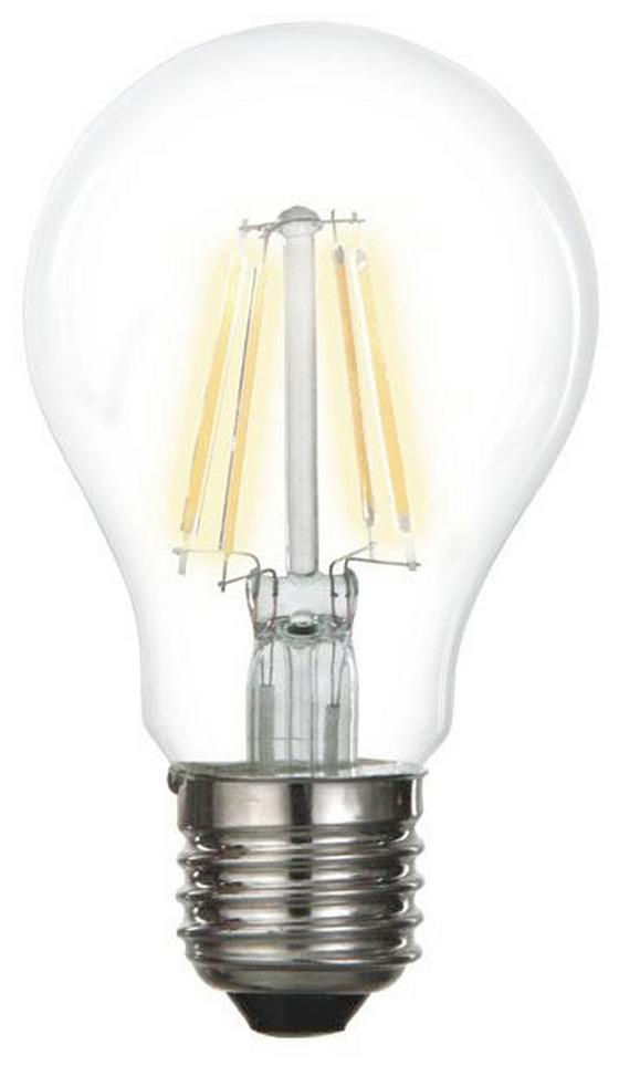 Eco-halogenleuchtmittel 600 lm, E27, A+ - Klar, KONVENTIONELL, Glas/Metall (5,9cm)