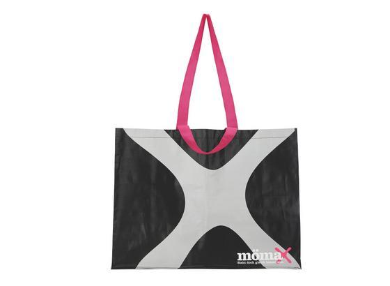 Taška Nákupní Mömax -ext- - růžová/černá, umělá hmota (53/40/22cm) - Mömax modern living