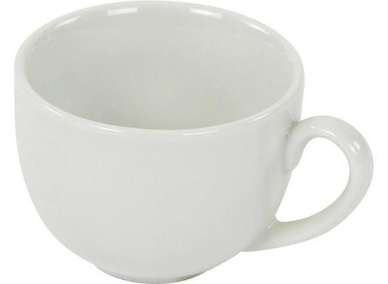 Espressotasse Felicia - Weiß, KONVENTIONELL, Keramik (6,8/5cm) - Ombra